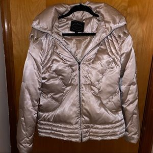1 Madison Puffer Coat (with detachable fur hood)